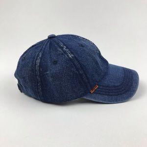 Levi's Accessories - Levi's Denim Orange Tab Trucker Jean Hat Re/Done